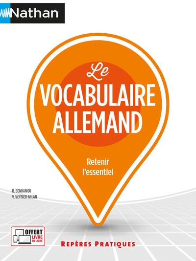 LE VOCABULAIRE ALLEMAND (REPERES PRATIQUES N 62) 2021 - VOL62 BENHAMOU, BRIGITTE  CLE INTERNAT
