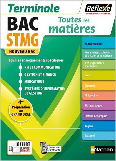 MEMOS REFLEXES T.24  -  TOUTES LES MATIERES : STMG : TERMINALE (EDITION 2021)