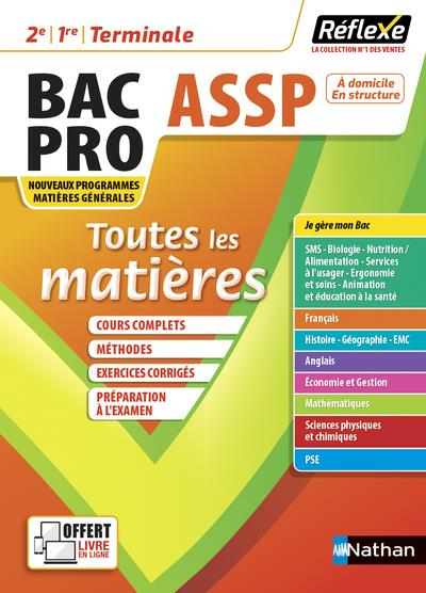 TOUTES LES MATIERES BPRO ASSP - REFLEXE N 14 2021