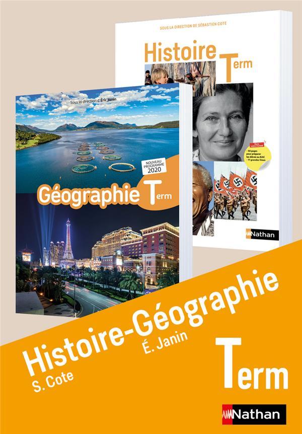 HISTOIRE-GEOGRAPHIE  -  TERMINALE  -  LIVRE DE L'ELEVE (EDITION 2020)
