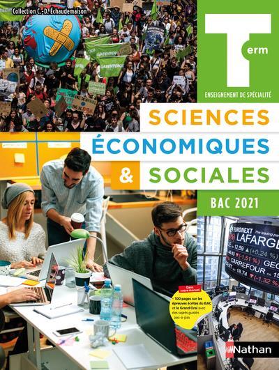 SCIENCES ECONOMIQUES et SOCIALES  -  TERMINALE  -  MANUEL DE L'ELEVE (EDITION 2020)