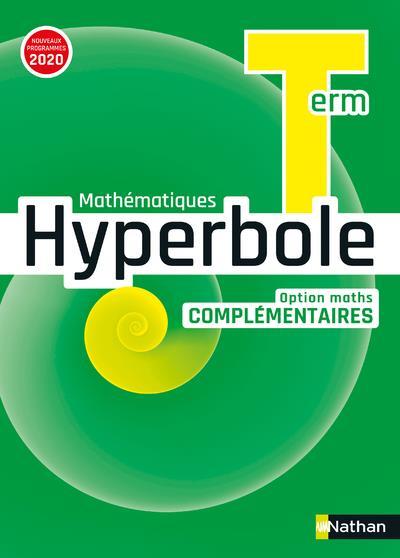 HYPERBOLE TERM - OPTION MATHS COMPLEMENTAIRES - MANUEL 2020