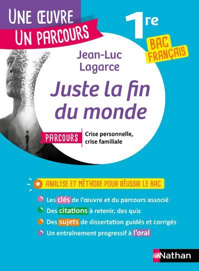 JUSTE LA FIN DU MONDE  -  1RE (EDITION 2020)