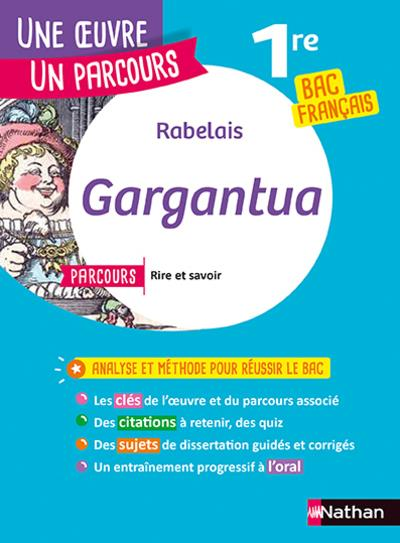 RABELAIS, GARGANTUA COLLECTIF CLE INTERNAT