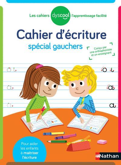 CAHIER D'ECRITURE POUR GAUCHER (EDITION 2021) BARBIER/JUSSERAND CLE INTERNAT
