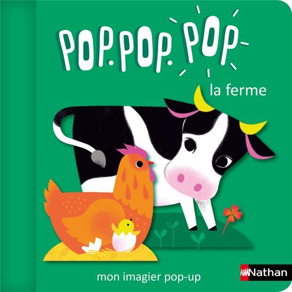 POP.POP.POP LA FERME : MON IMAGIER POP-UP COSNEAU, GERALDINE CLE INTERNAT
