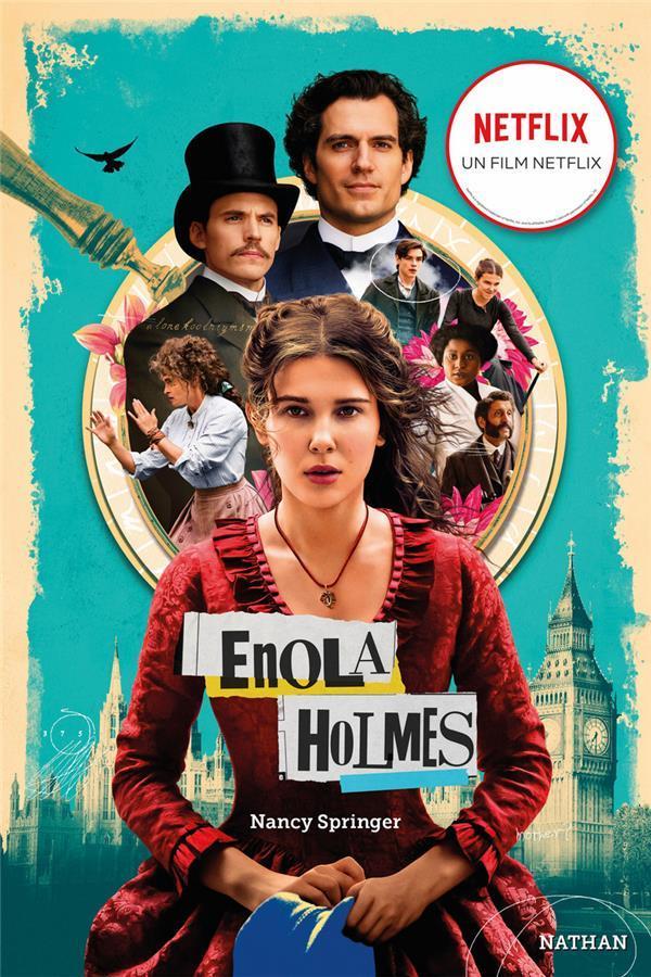 LES ENQUETES D'ENOLA HOLMES T.1  -  LA DOUBLE DISPARITION SPRINGER, NANCY CLE INTERNAT