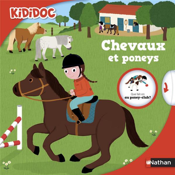 CHEVAUX ET PONEYS - VOL39 Toublanc Élise Nathan Jeunesse