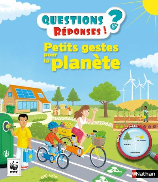 PETITS GESTES POUR LA PLANETE - VOL26 Godard Delphine Nathan Jeunesse