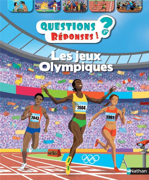 QUESTIONS REPONSES 7+  -  LES JEUX OLYMPIQUES BILLIOUD/BONE Nathan Jeunesse