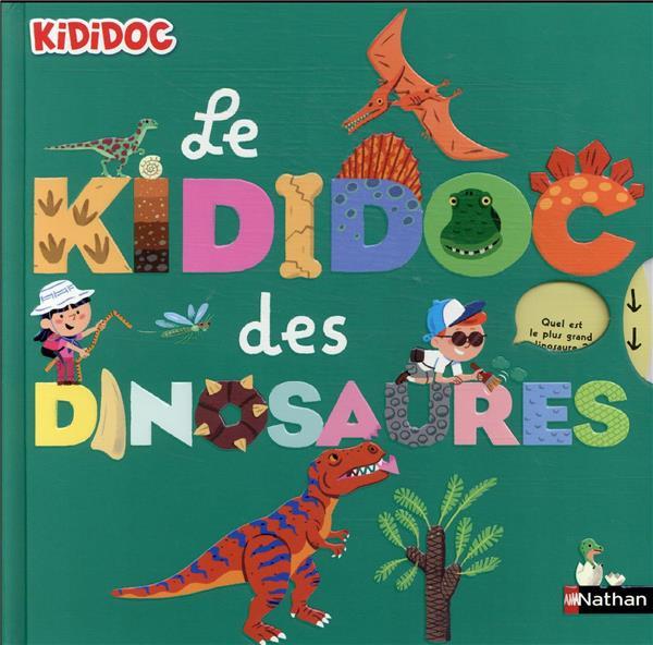 LE KIDIDOC DES DINOSAURES COLLECTIF CLE INTERNAT