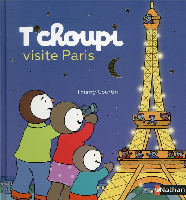 T'CHOUPI VISITE PARIS