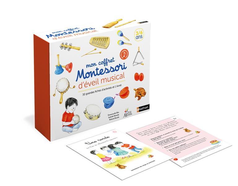 MON COFFRET MONTESSORI  -  JEUX MUSICAUX -