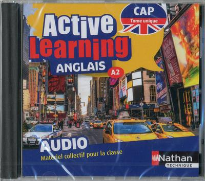 ACTIVE LEARNING - ANGLAIS CAP - A2 TOME UNIQUE - 1 CD AUDIO (MP3) 2019