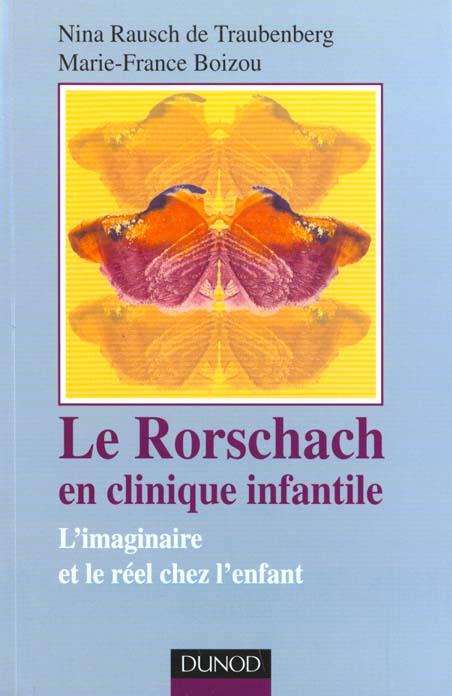 LE RORSCHACH EN CLINIQUE INFAN