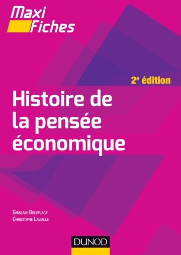 MAXI FICHES  -  HISTOIRE DE LA PENSEE ECONOMIQUE