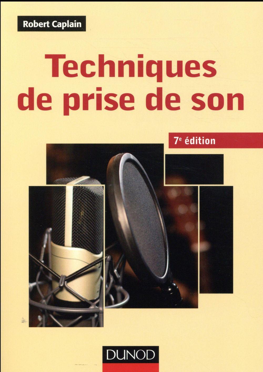 TECHNIQUES DE PRISE DE SON   7ED