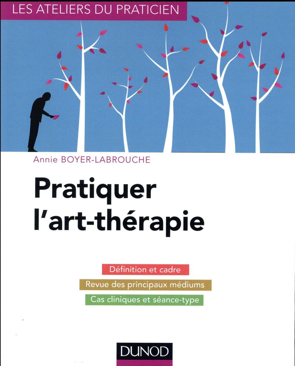 PRATIQUER L'ART-THERAPIE  -  CADRE ET CAS CLINIQUES