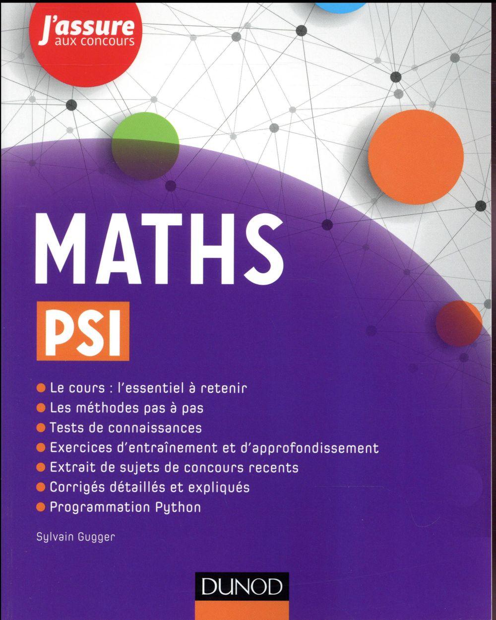MATHS PSI