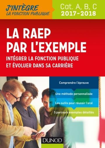 LA RAEP PAR L'EXEMPLE - 2017-2018 - RECONNAISSANCE DES ACQUIS ET DE L'EXPERIENCE PROFESSIONNELLE