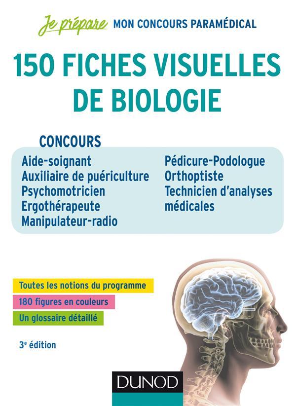 JE PREPARE  -  150 FICHES VISUELLES DE BIOLOGIE  TROGLIA, PATRICK DUNOD