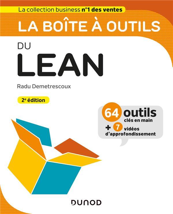 LA BOITE A OUTILS DU LEAN (2E EDITION) DEMETRESCOUX, RADU DUNOD