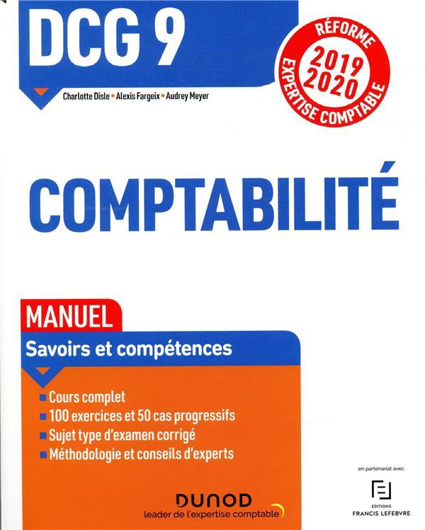 DCG 9 - INTRODUCTION A LA COMPTABILITE - DCG 9 - 0 - DCG 9 COMPTABILITE - MANUEL - REFORME 2019-2020