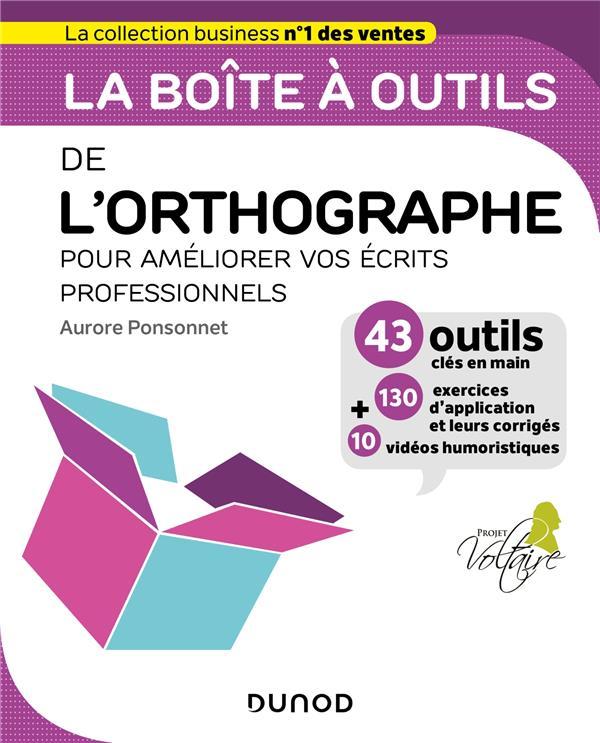 LA BOITE A OUTILS  -  DE L'ORTHOGRAPHE