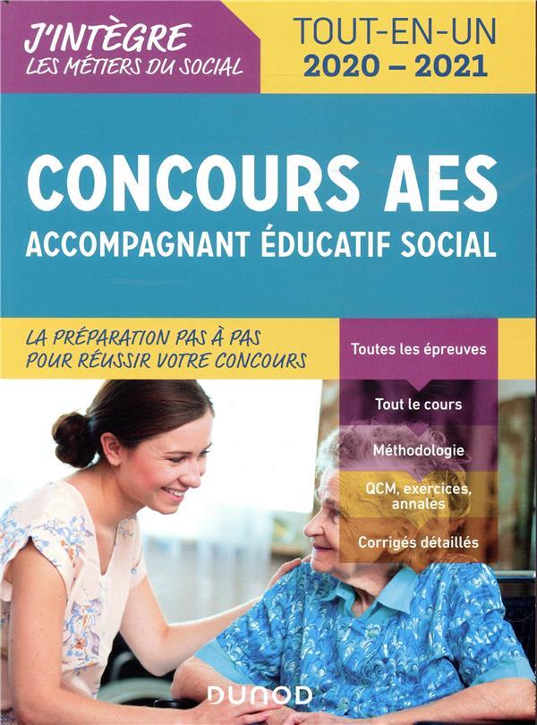 CONCOURS AES - ACCOMPAGNANT EDUCATIF SOCIAL - CONCOURS 2020-2021