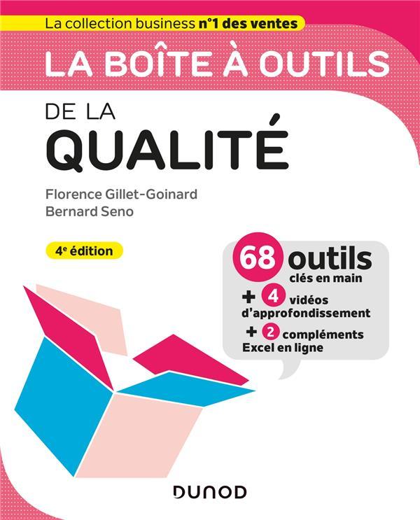 LA BOITE A OUTILS  -  DE LA QUALITE (4E EDITION)