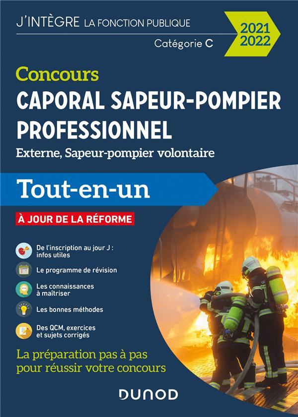 CONCOURS SAPEUR-POMPIER PROFESSIONNEL  -  CONCOURS EXTERNE ET INTERNE  -  CATEGORIE C (EDITION 20212022) MAMOURI/LIGARY DUNOD