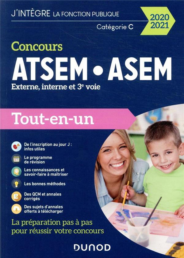 FONCTION PUBLIQUE TERRITORIALE - T01 - CONC OURS ATSEM/ASEM - EXTERNE, INTERNE, 3E VOIE