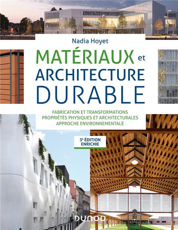 MATERIAUX ET ARCHITECTURE DURABLE