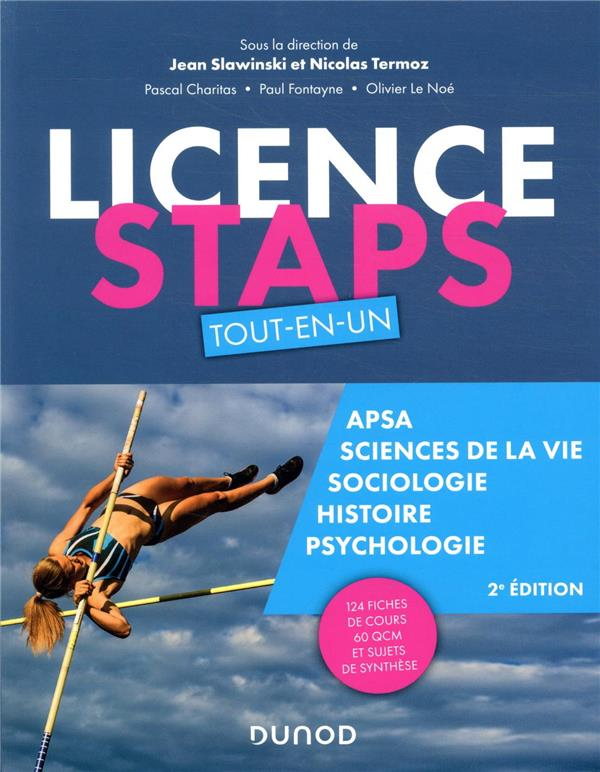 LICENCE STAPS  -  TOUT-EN-UN (2E EDITION) SLAWINSKI/TERMOZ DUNOD