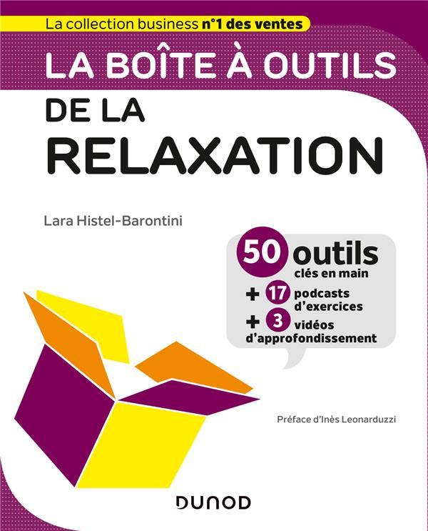 LA BOITE A OUTILS  -  DE LA RELAXATION HISTEL, LARA DUNOD