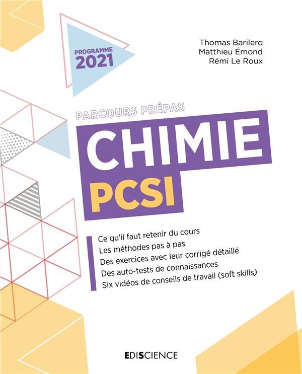 CHIMIE PCSI (2E EDITION) BARILERO/EMOND DUNOD