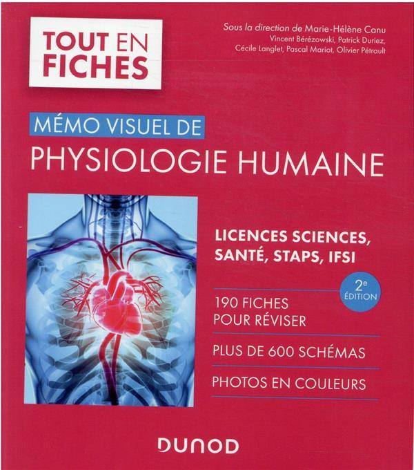 MEMO VISUEL DE PHYSIOLOGIE HUMAINE - 2E ED.