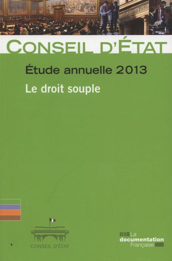 Conseil d'Etat, étude annuelle 2013
