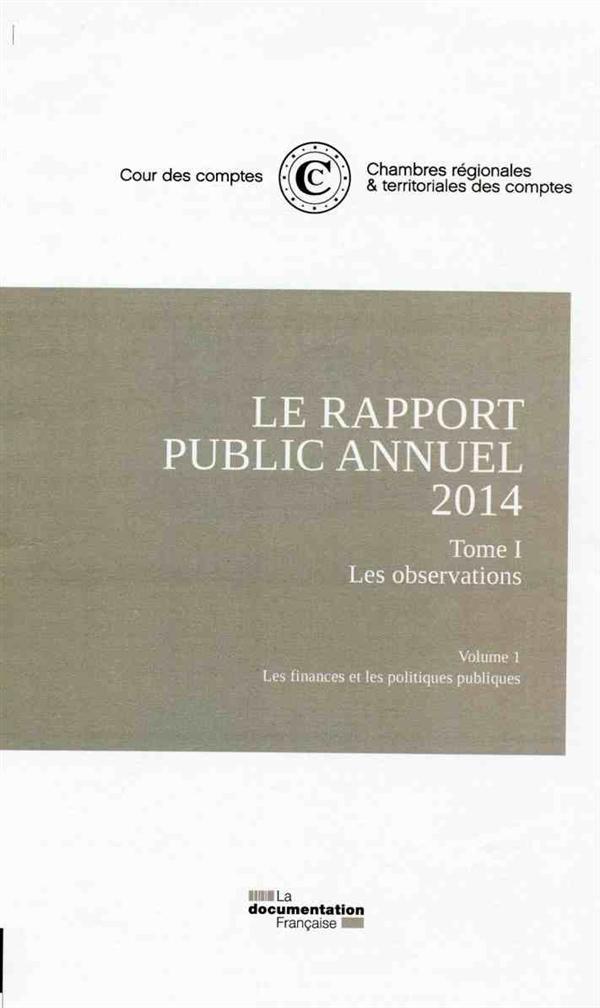 Le rapport public annuel 2014