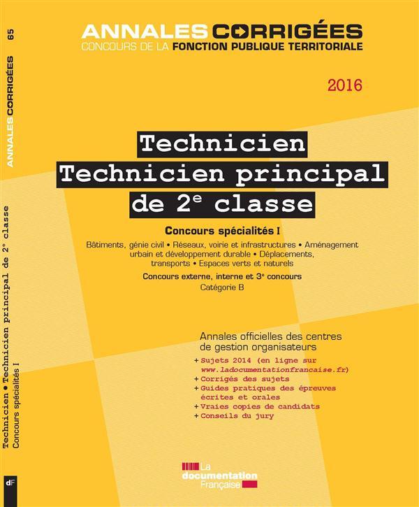TECHNICIEN - TECHNICIEN PRINCI