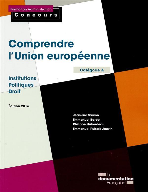 COMPRENDRE L-UNION EUROPEENNE