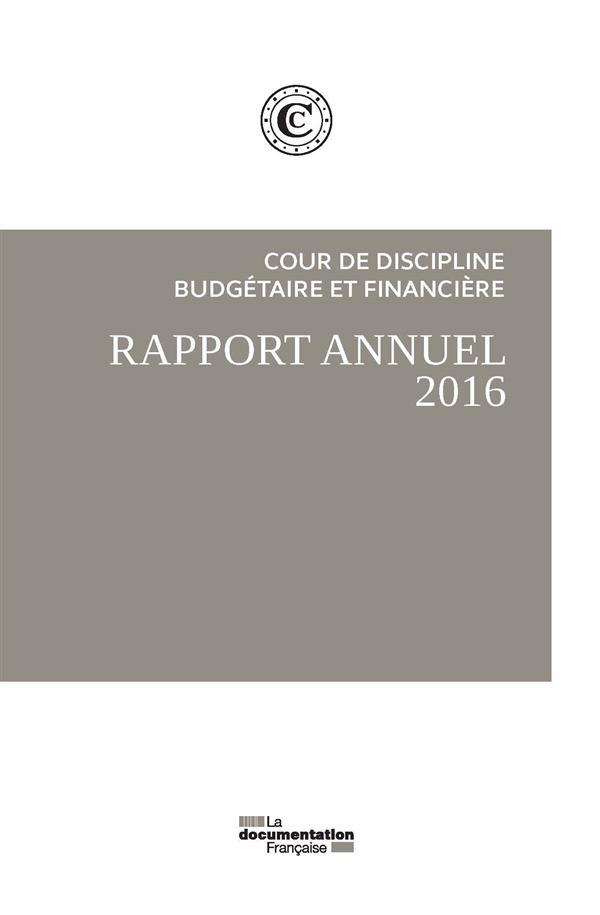 RAPPORT PUBLIC ANNUEL 2016