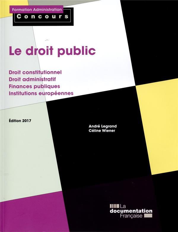 LE DROIT PUBLIC EDITION 2017