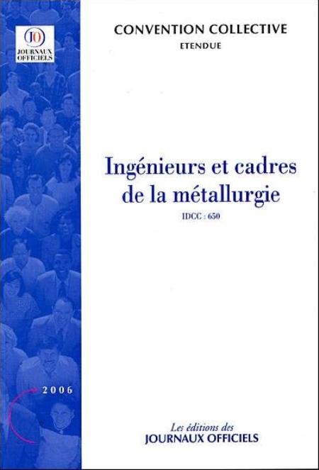 INGENIEURS ET CADRES DE LA METALLURGIE CCN 3025