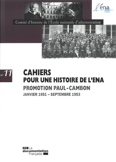 PROMOTION PAUL CAMBON 1951-1953 N 11