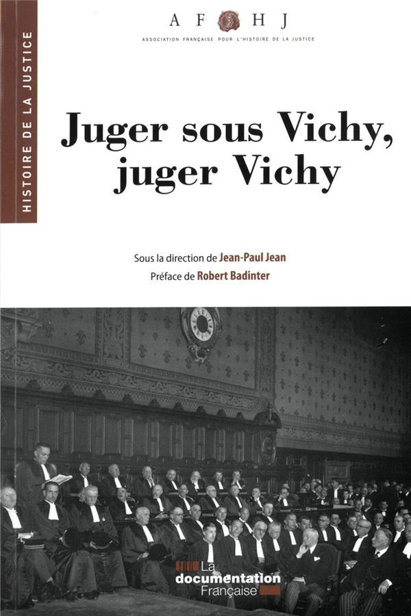 JUGER SOUS VICHY, JUGER VICHY (29E EDITION)