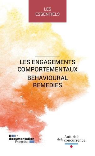 LES ENGAGEMENTS COMPORTEMENTAUX  -  BEHAVIOURAL REMEDIES