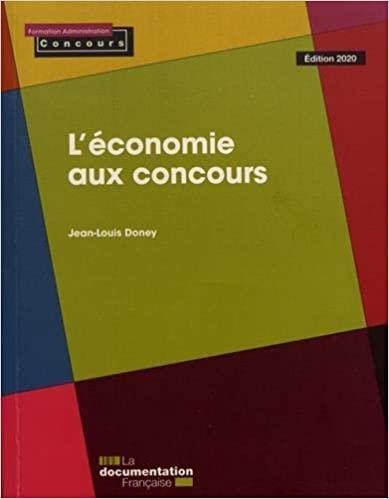 L-ECONOMIE AUX CONCOURS