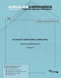 ATTACHE TERRITORIAL PRINCIPAL 2021  -  EXAMEN PROFESSIONNEL  -  CATEGORIE A