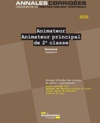 ANIMATEUR  -  ANIMATEUR PRINCIPAL DE 2E CLASSE  -  CONCOURS (EDITION 2021)